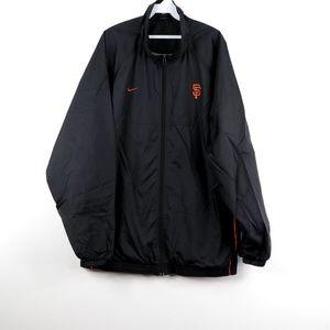 Nike Mens San Francisco Giants Baseball Jacket